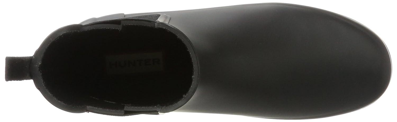 Hunter Org Damen W Org Hunter Refined Chelsea Gummistiefel Schwarz (schwarz) 803c25
