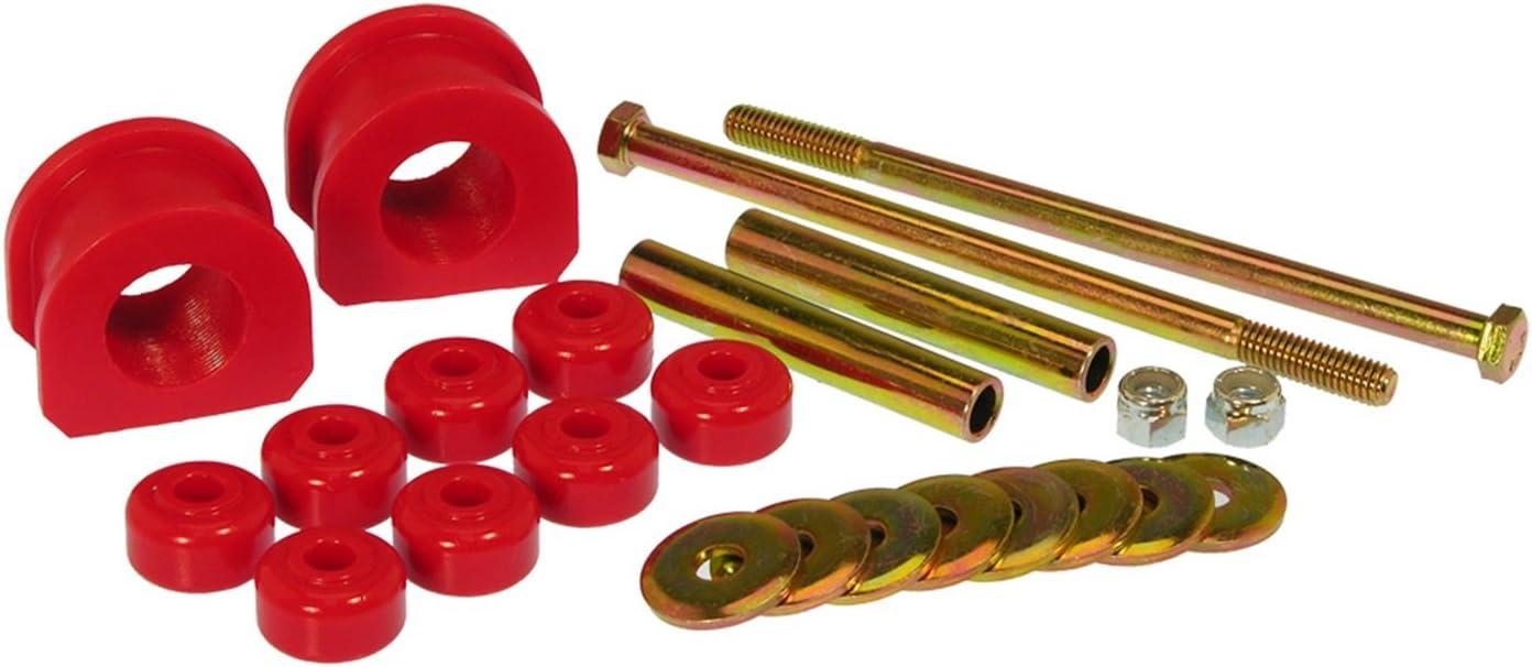 Prothane 7-1167 Red 1-1//8 Front Sway Bar Bushing Kit