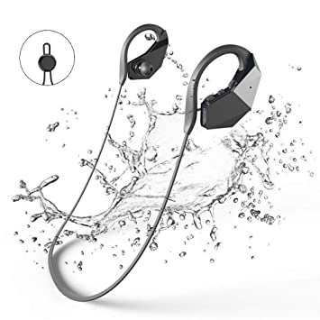 Auriculares Massway Reproductor de MP3 para nadar, de 8GB con IPX8, Audífonos impermeables,