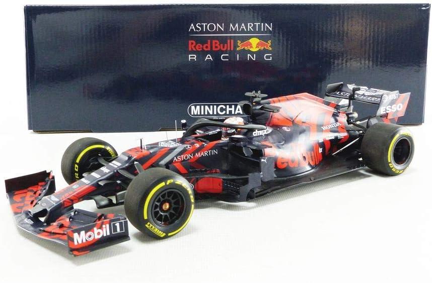 Amazon Com Formula 1 Aston Martin Red Bull Racing Rb15 M Verstappen Shakedown Livery S Stone 13 2 2019 1 18 Minichamps Toys Games