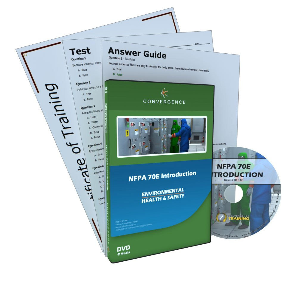 Convergence C-387 NFPA 70E Introduction Training Program DVD, 26 minutes Time