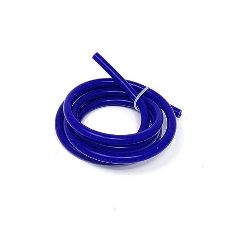 5//16 Inch 8MM BLUE Inner Diameter High Performance Silicone Vacuum Hose Line Upgr8 10 Feet Length Universal 8mm