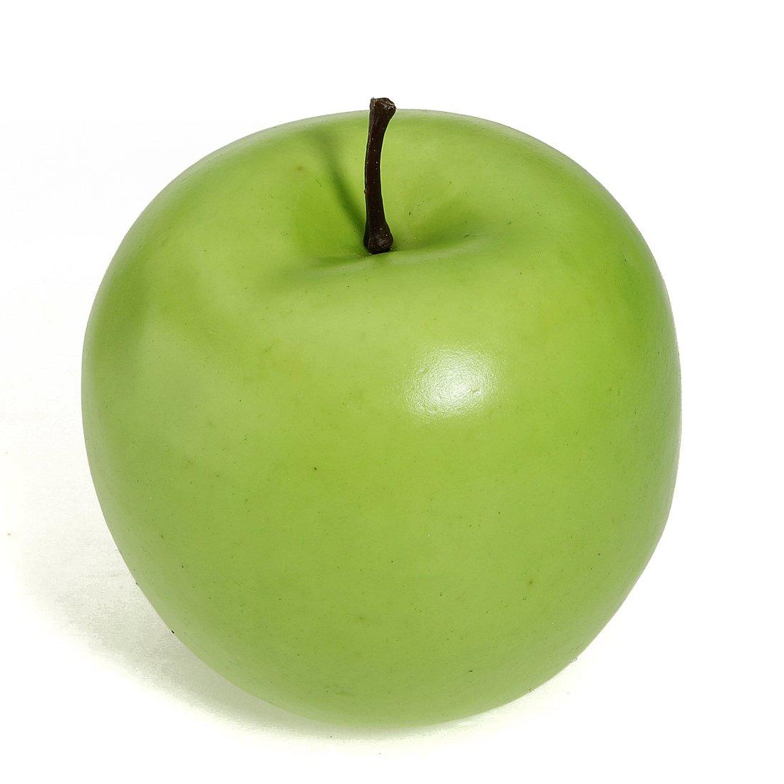 amazon com  12pcs decorative large artificial red apple plastic      rh   amazon com