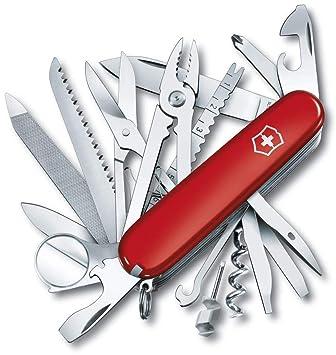 Victorinox Swisschamp, Cuchillo Bolsillo Medio Unisex Adulto