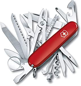 New Victorinox Swiss Army Knife Swisschamp 33 Champ 33In1 Tools 35763