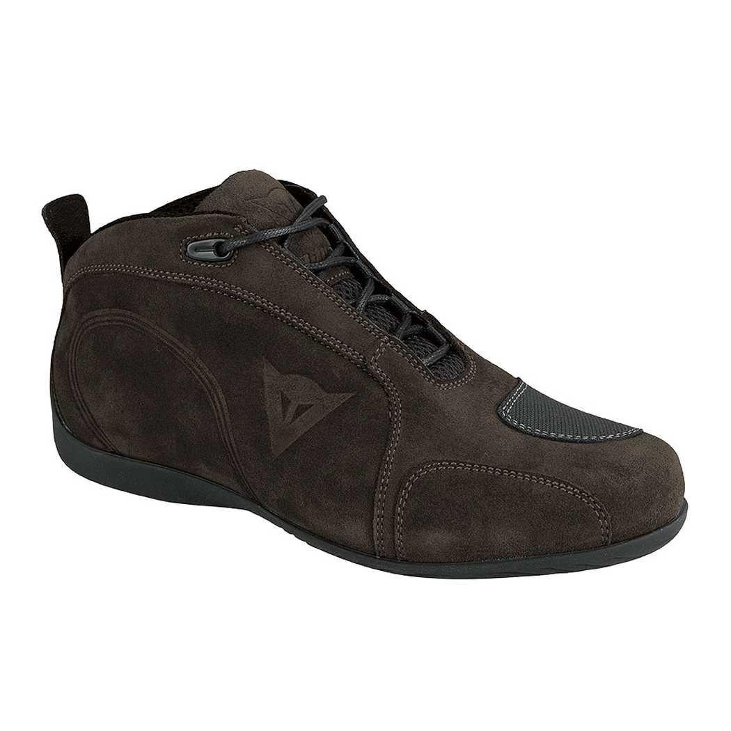 Dainese Merida D1 Adult Split Cowhidehide Leather Shoes, Black, EUR-40/US-7.5