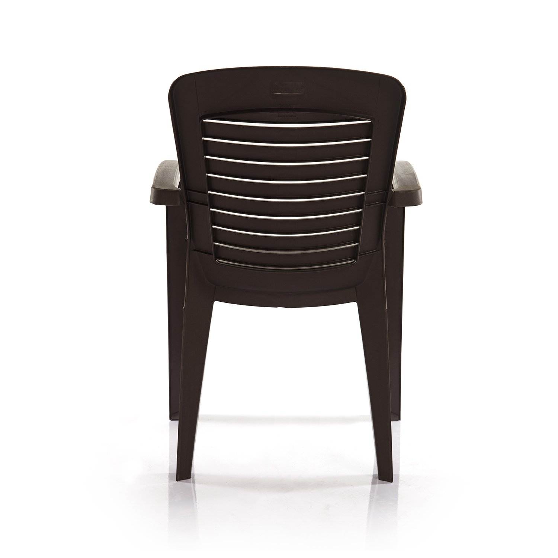 Varmora Premium Chair Set of 2 Horiz Ergo Brown Amazon