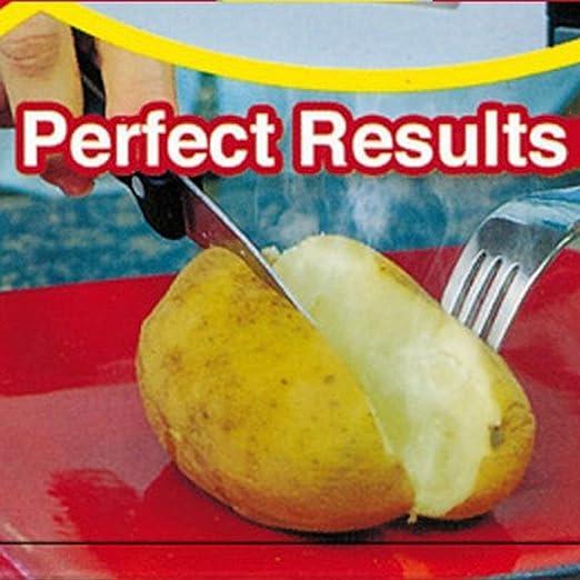 FISOUL - Bolsa para patatas horneadas para microondas, bolsa para ...