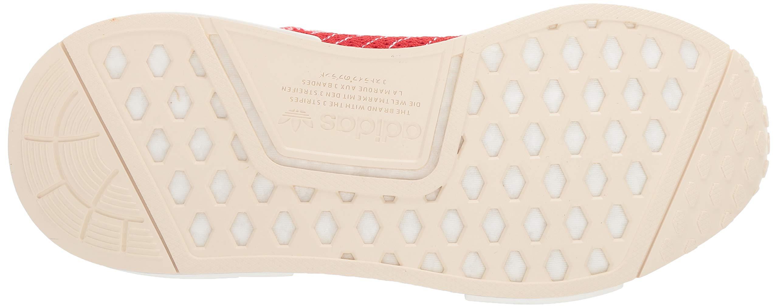adidas Originals Men's NMD_R1 Running Shoe, Active red/Ecru Tint, 4 M US by adidas Originals (Image #3)