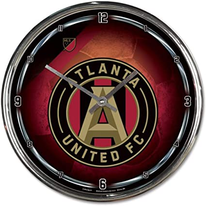 Wincraft Atlanta United FC Chrome Wall Clock 12 inches Round