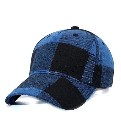 Zoylink Gorra De Béisbol Para Hombre Sombrero Ajustable Patrón De Tela Escocesa Sun Golf Cap Para Al Aire Libre: Amazon.es: Ropa y accesorios