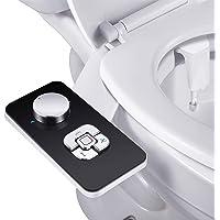 Bidet Attachment - SAMODRA Non-electric Cold Water Bidet Toilet Seat Attachment with Pressure Controls,Retractable Self…