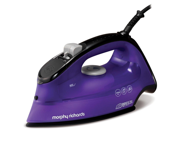 morphy richards 300253 breeze steam iron 2600 w purple. Black Bedroom Furniture Sets. Home Design Ideas