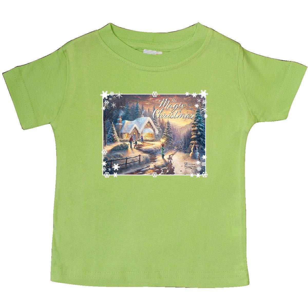 Thomas Kinkade inktastic Country Christmas Homecoming Baby T-Shirt