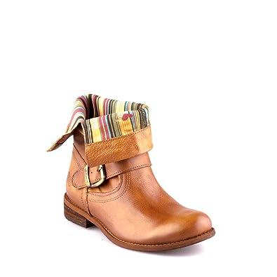 dd7e4b34718 Felmini - Chaussures Femme - Tomber en amour avec Oderg 8247 - Bottes  Cowboy   Biker