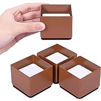 AIRUJIA 3 cm lift meubelstandaard, bedverhoging, diameter 6 cm, allround bescherming, krachtige meubelliften verhogen de…