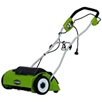 GreenWorks 27022 10 Amp 14-inch Corded Dethatcher Deals