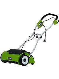 """GreenWorks 27022 10 Amp 14"""" Corded Dethatcher/Scarifier"""