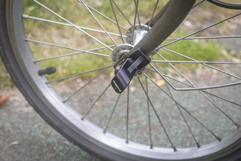 Aluminio Gancho para Brompton L-MUDGUARD Versi/ón Ligero Negro