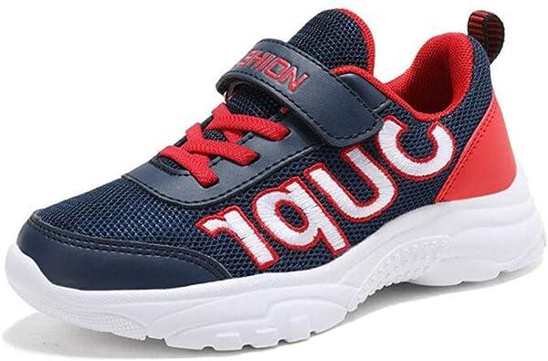 Zapatillas de deporte para niños Zapatillas de deporte para niños Zapatillas para correr Niños y niñas al aire libre Calzado casual Zapatillas de malla transpirables Competencia Calzado de entrenamien: Amazon.es: Zapatos y