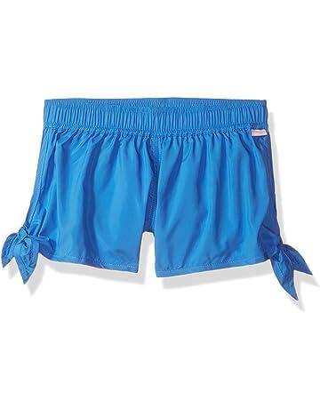 ee8cdbe1e0 Seafolly Big Girls' Tie Side Boardie Swimsuit