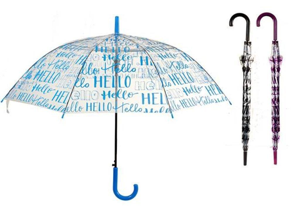 Copywritte Frases 761057 Paraguas Clásico, 82 cm, Transparente: Amazon.es: Equipaje
