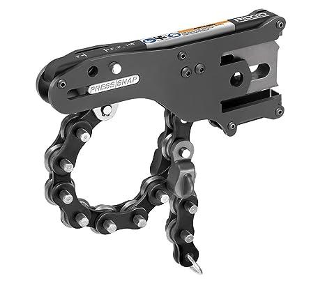 RIDGID 34403 Press Snap Soil Pipe Cutter, Chain Pipe Cutter And Cast Iron  Pipe Cutter