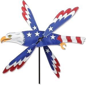 Premier Kites Whirligig Spinner - 25 in. Patriotic Eagle Spinner