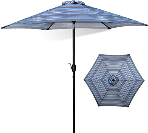FRUITEAM Patio Umbrella 7 1/2 ft