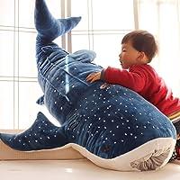 SanwoodenJ Toy Gift Shark Plush Toy Cute Shark Plush Toy Big Fish Cloth Doll Whale Stuffed Children Birthday Gift Novelty & Gag Toys