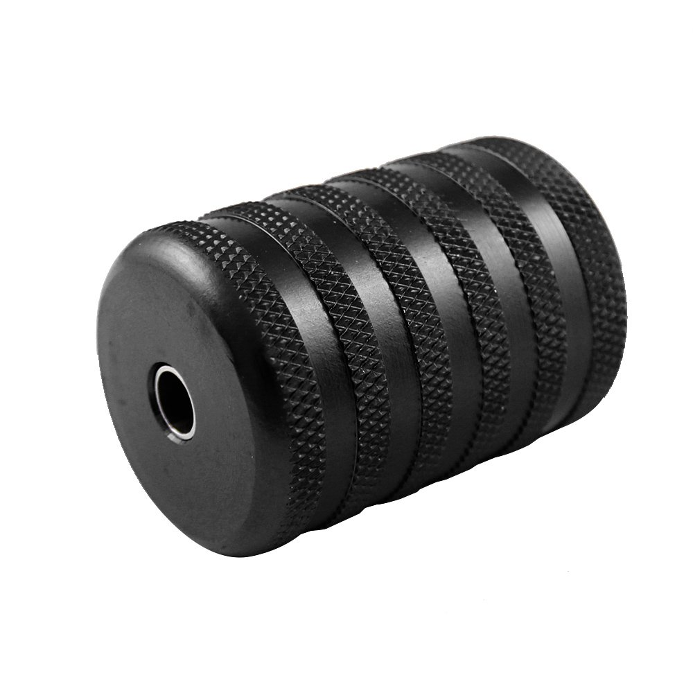 ITATOO® 35MM 1 1/2 Aluminum Tattoo Grip Tubes Thick (Black)