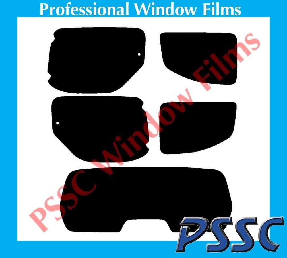 PSSC Pre Cut Rear Car Window Films for Peugeot Partner 2008 to 2016 05/% Very Dark Limo Tint