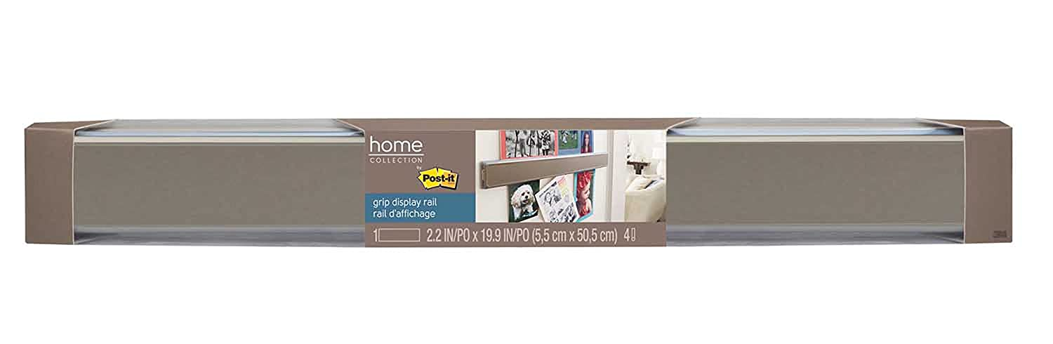 Amazon.com : Post-it Grip Display Rail with Navy Film (GRIPRAIL ...