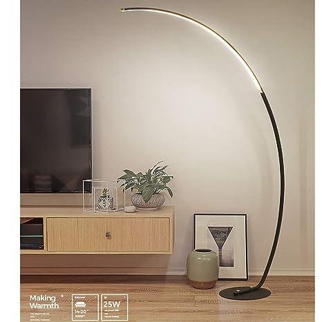 ZH pantallas LED de Zanflare, lámpara de pie de arco clásica ...