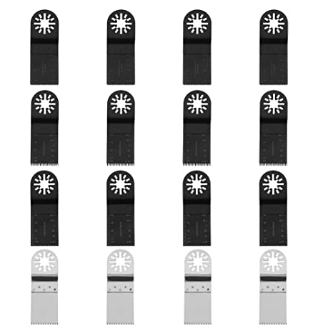 66 X Mix Oscillating Multi Tool Saw Blades For Bosch Fein MultiMaster Makita