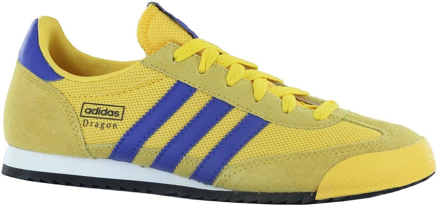Adidas Dragon NC Yellow Mens Trainers Size 8 UK: Amazon.co.uk ...
