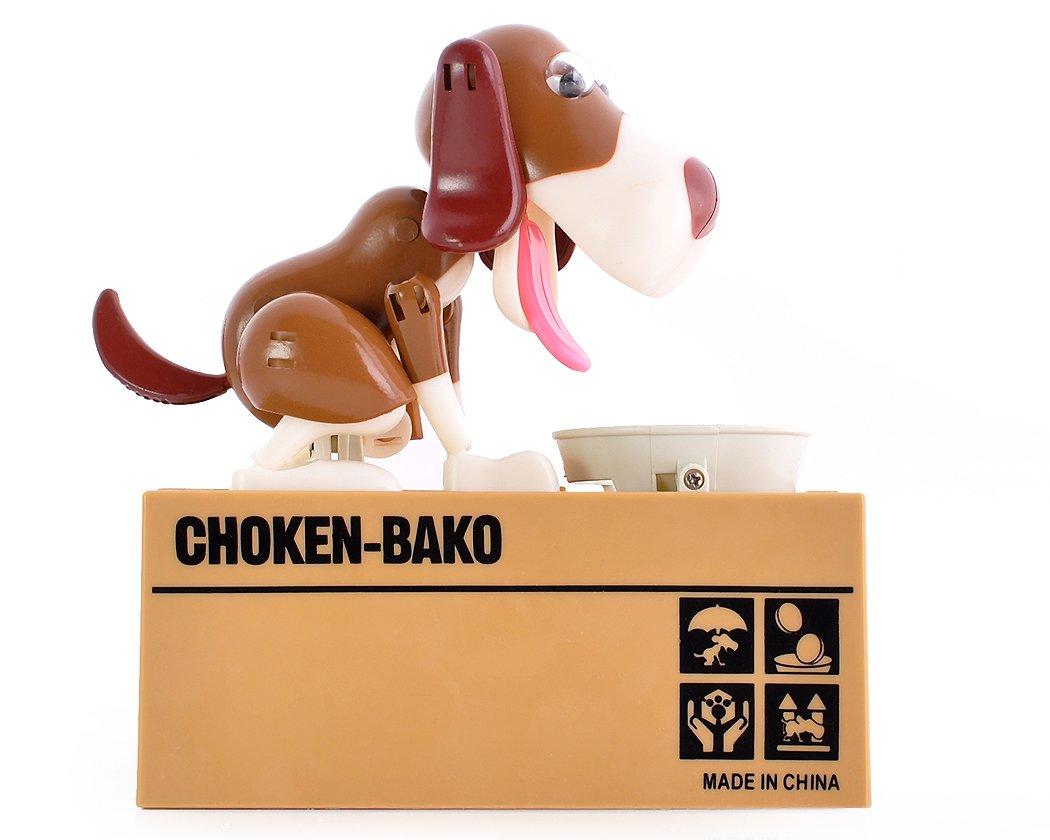 ds distinctive style DSstyles Hungry Dog Piggy Bank Bo/îte /à /économiser de largent Mange Manger Munching Toy Cadeau danniversaire Id/éal Cadeau de No/ël pour Les Enfants