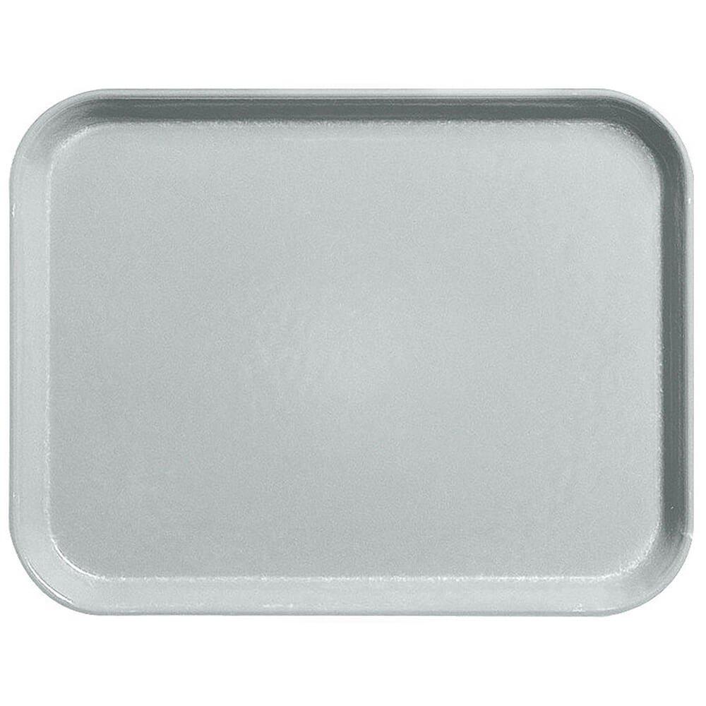 Cambro 14'' x 18'' Fiberglass Food Trays, Economy Line, 12PK Steel White 1418CL-676