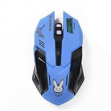 Amazon.com: mouse óptico Juego Gaming Mouse, retroiluminado ...