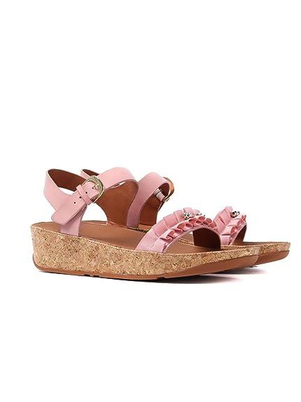 aa0c75cf6c6ab Fitflop Women s Ruffle Back-Strap Sandals - Dusky Pink  Amazon.co.uk ...
