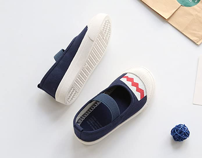 Goodsneaker Lovely Princess Shoes Toddler Anti-Slip Canvas Sneaker Shoes Slip-on Girl Casual Shoes