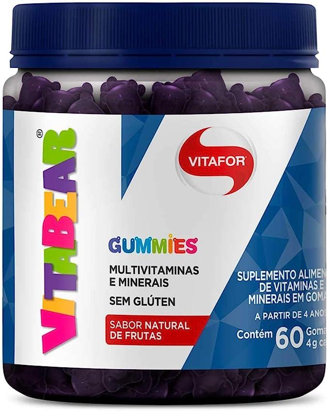 Vita Bear (60 Gomas) - Sabor Blue Berry, Vitafor