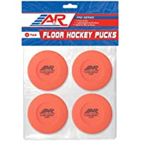 A&R Sports Floor Hockey Pucks (Pack of 4)