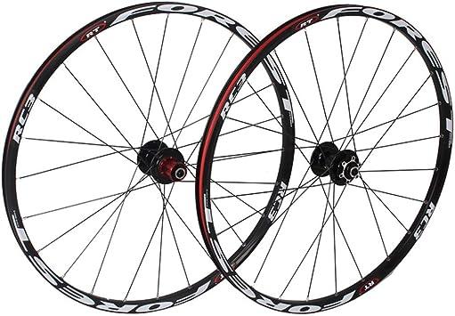 MZPWJD Juego Ruedas Bicicleta Montaña 26 27.5 In Rueda Bicicleta ...