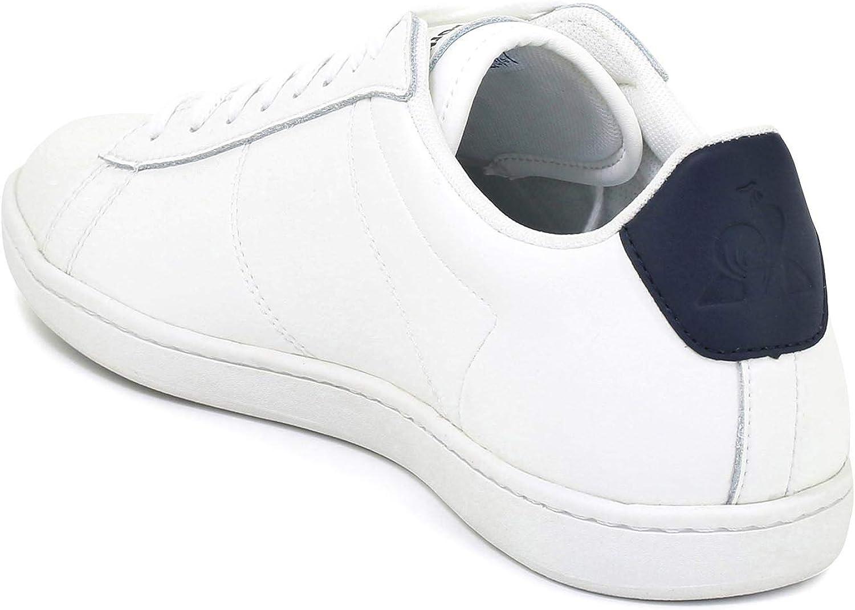 Le Coq Sportif Courtset Optical White/Dress Blue, Basket Mixte Adulte Blable