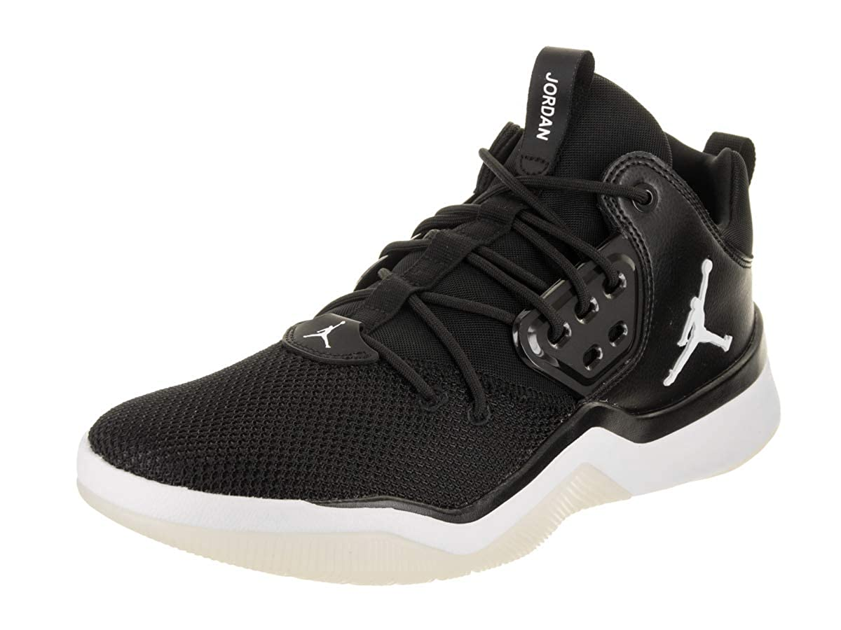 Nike AO1539-010 - Zapatillas de Baloncesto de Material Sintético Para Hombre Negro Blanco y Negro 44.5 EU