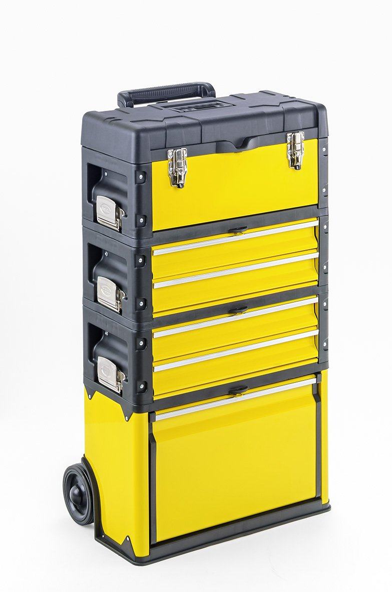 Werkzeugtrolley 4-fach 1k.2.2.1 gelb