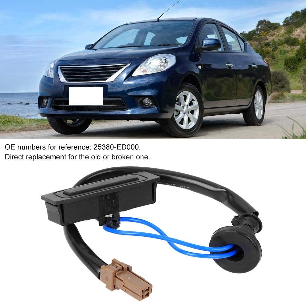 Tailgate Release Switch 25380-ED000,Tailgate Liftgate Trunk Open Release Switch Boot Opener Switch Fits for Nissan Murano//Pathfinder