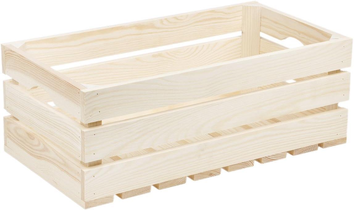 Caja de madera caja de madera cajón-estantería baúl Caja Caja de ...