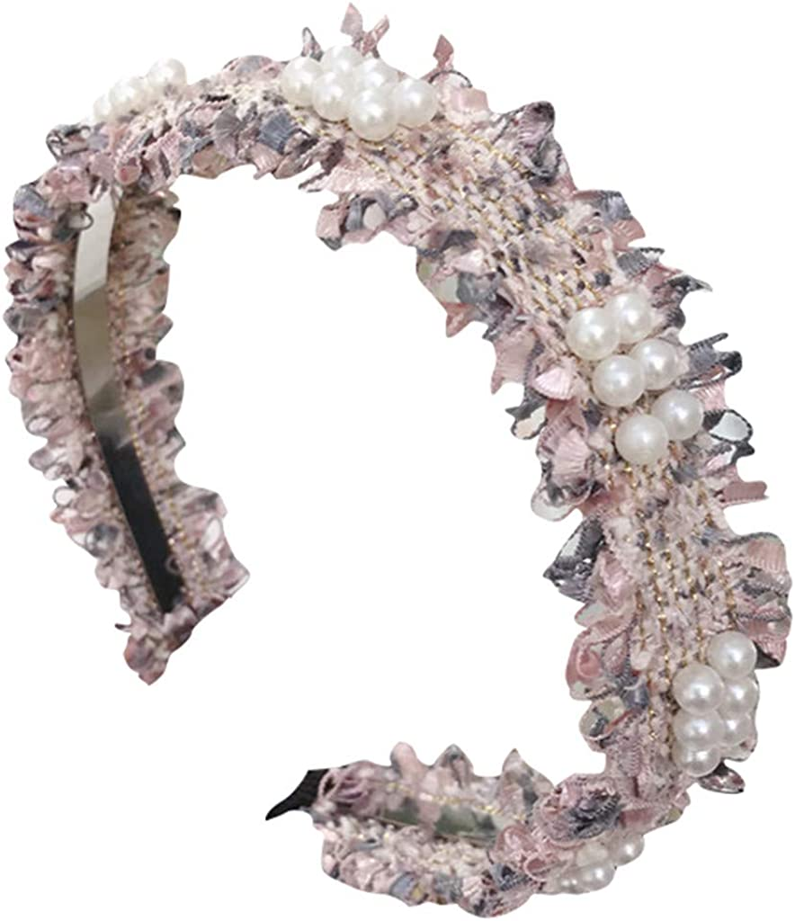 Womens Headbands Head Wrap Crystal Lace Headband Hairband Hair Band Accessories Fashion Headbands for Women Girls Headbands